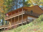 Jacks Creek Cabin Rental Burnsville NC
