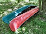 Two canoes and accessories provided