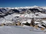 View from the International ski run on Mt. Crested Butte.