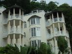 Villa is located close to sky castle and overlooks the city of ocho rios