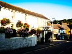 Billy Budds pub and Croyde village - 2 minute walk from Priory Stables