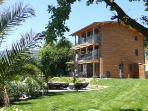 Luxury Eco villa with 240º panoramic sea views.