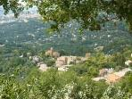 View of Magagnosc old village from la Tour