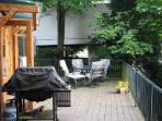 Dining Deck with BBQ
