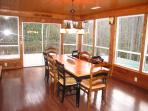 Dining Room to Large Deck