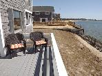 Another view of deck