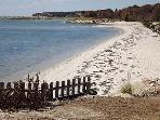 View of semi - private beach