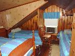2nd Floor Bedroom with 3 Twins