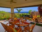 Enjoy the Incredible Ocean Views from Lanai