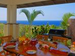 Enjoy Balmy Ocean Breezes and Al Fresco Meals On the Lanai with Amazing Views