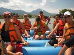 Rafting the Yellowstone River