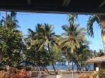 This is the view from the lanai and while laying in the King bed