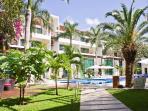 Condominio de lujo, gran piscina, gimnasio, 2 cama - Via 38