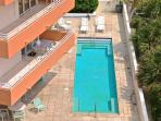 Swimming pool - viewed from the living room balcony