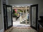 French Doors Leading to Rear Patio