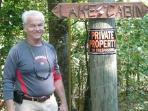 cabin owner, Doug Echols