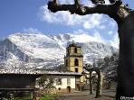 La Colegiata San Pedro, Teverga, Asturias, Spain