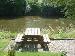 The best seats in the house to see the Kingfishers and  Otters and much more !
