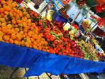 ILIOS house old towns market place fresh fruits and vegetables