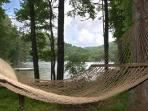 Lakeside Hammock for Reading & Napping