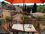 panoramic terrace of La Casa nel Borgo