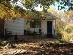 Garden room in fall