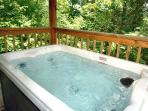 Relax in Gatlinburg in your very own hot tub