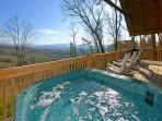 A View For All Seasons #405- Hot Tub with a Mountain View