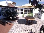 Typical Lanzarote Patio with Grill