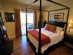 Queen bedroom w/ ensuite