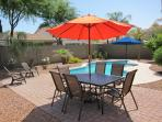Outdoor Poolside Dining
