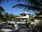 Beach house in Bahia, Brazil on Atlantic ocean