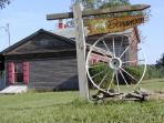 Donameer Farm entrance, 7417 Velie Rd