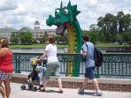 Downtown Disney - free Lego playing