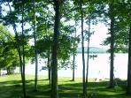 Front window view of Lake