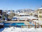 Aspen Lodge Winter View - 4207