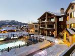 Aspen Lodge Night View - 4207