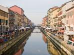 Navigli - the last month's Sunday with antique stalls
