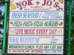 Nok & Jo's Restaurant Surin