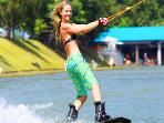 Cable water ski park