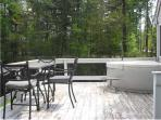 Deck w Bistro Table