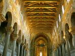 Inside of the wonderful Cathedral of Monreale