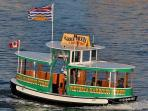 Catch the Water Taxi right outside your door!
