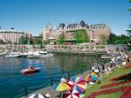 Empress Hotel and Inner Harbour