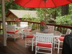 Deck - Outdoor Dining - Propane BBQ
