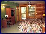 Typical Bedroom w/jacuzzi & balcony/patio