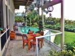 Lanai off Pool and Main House available for guest use