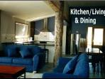 Kitchen,Living & Dining