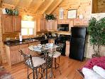 Kitchen with Dining for Two