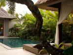 Gazebo beside the pool
